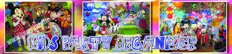 badut, kids party, ulang tahun, dekorasi ulang tahun