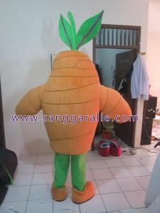 Kostum Badut Maskot Perusahaan OLAN